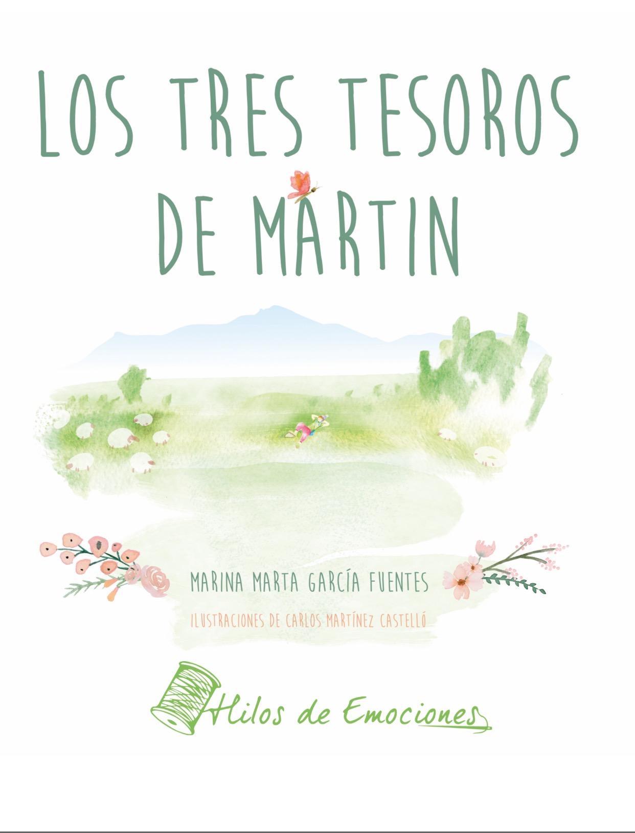Portada Libro Los tres tesoros de Martin