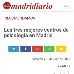 Psicode de los 3 mejores centros de Psicología de Madrid